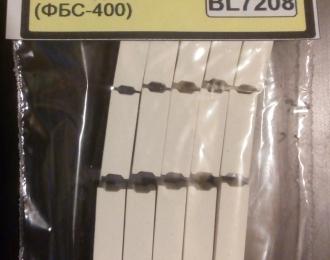Блоки ФБС-400 (5 шт. * 880мм, 5 шт. * 1180мм, 5 шт. * 2380мм), серый