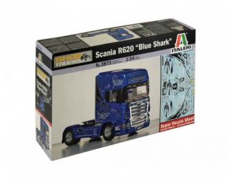 Сборная модель SCANIA R620 Blue Shark