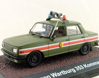 WARTBURG 353 Kubelwagen Kommandantendienst, серия NVA-Fahrzeuge от Atlas Verlag, хаки