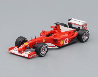 FERRARI F2002 1 German GP Nurburgring (Rubens Barrichello) 2002, red