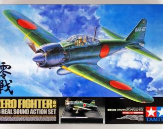 Сборная модель Японский самолёт Mitsubishi A6M5 Zero Fighter - Real Sound Action