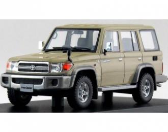 TOYOTA LAND CRUISER 70 Anniversary Van (TLC76) (2014), beige