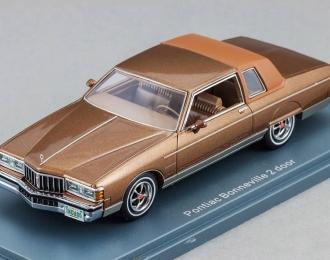PONTIAC Bonneville Brougham 2-d (1980), brown metallic / brown