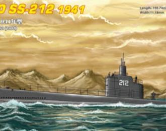 Сборная модель Подводная лодка USS Cato SS-212 1941