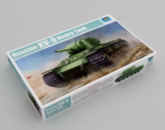 Сборная модель Russian KV-9 Heavy Tank