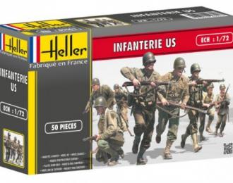 Сборная модель Американская пехота