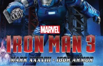 Сборная модель Iron Man 3 - Mk.XXXVIII - Igor