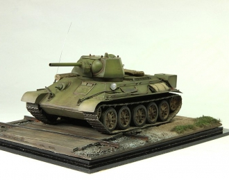 танк Т-34/76 1943 г. (хаки со следами эксплуатации)