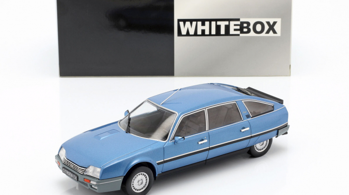 CITROEN CX 2500 Prestige 1986 Metallic Blue