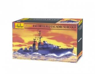 Сборная модель Корабль  ESCORTEUR D'ESCADRE SURCOUF