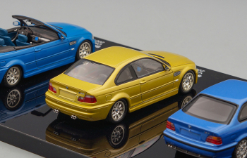 Набор машин BMW M3 1986-2006