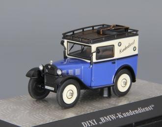 DIXI Eillieferwagen BMW-Kundendienst, blue / beige