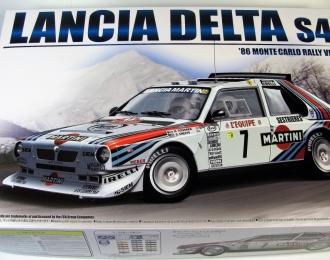 Сборная модель Lancia Delta S4 '86 MonteCarlo