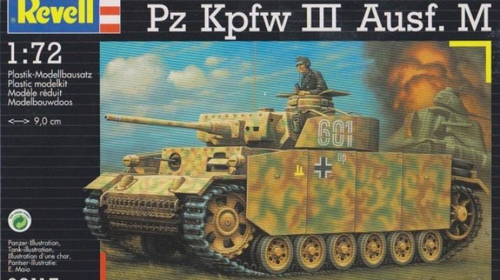 Сборная модель Немецкий танк Pz Kpfw III Ausf. M