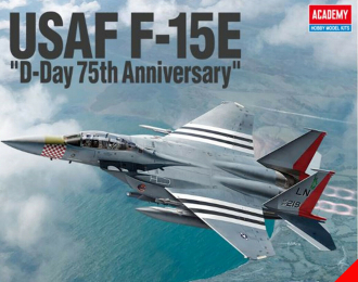 Сборная модель USAF F-15E D-day 75th Anniversary