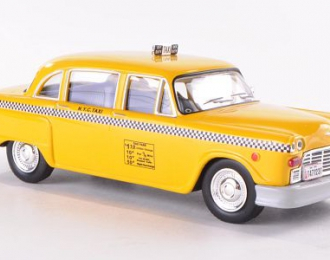 CHECKER Taxi  Cab NY (1980), yellow