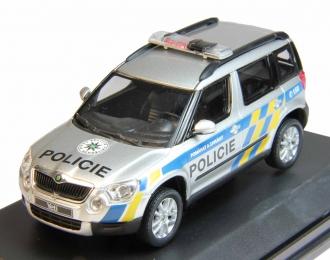 SKODA Yeti Police Czech Republic (2009), silver