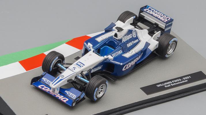 WILLIAMS FW23 Ральфа Шумахера (2001), Formula 1 Auto Collection 20