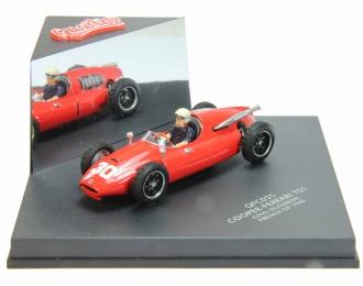 COOPER-FERRARI T51 Gino #30 Munaron French GP (1960), red