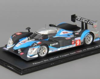 PEUGEOT 908 Hdi-FAP Peugeot Sport Total #9 Winner LM (2009), black / blue