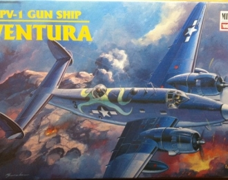 Сборная модель Американский самолет Lockheed Ventura Gun Ship