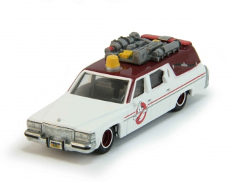 """CADILLAC Ambulance Ecto 1 Movie """"Ghostbusters"""" (1959), white"""