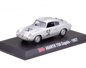 FIAT Abarth 750 Zagato Doppia Gobba #52 Mille Miglia 1957