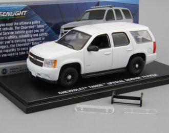 CHEVROLET Tahoe Police PPV with accessories 2010 Plain White