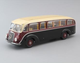 (Уценка!) MERCEDES-BENZ LO3500 Konferenzbus Bus, black / dark red