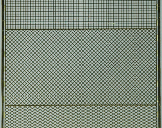 Фототравление Набор сеток с шагом 1.0 мм (3 сетки 30х60 мм), латунь 0.16 мм