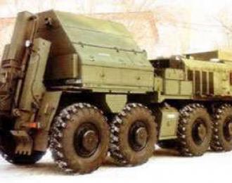 Сборная модель КЗКТ-7428 Русич машина техпомощи грузовая МТП-А4
