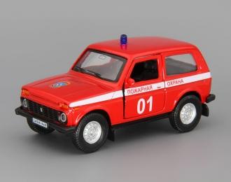 ВАЗ 21213 Нива 4х4 Пожарная, красный