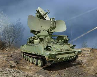 Сборная модель ЗРК Russian 1S91 SURN KUB Radar