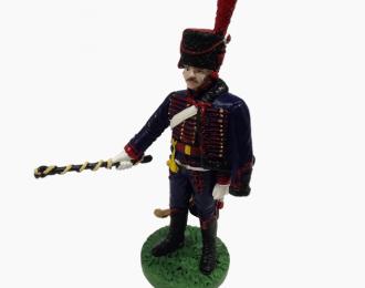 Фигурка Рядовой Конной артиллерии Императорской Старой гвардии, 1812