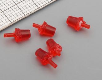 Красный сигнальный маяк FER DDR (цельнолитой) - 5 шт.
