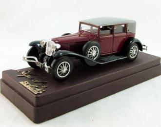CORD L29 (1929), серия Age d`or solido 1:43, красный с черным