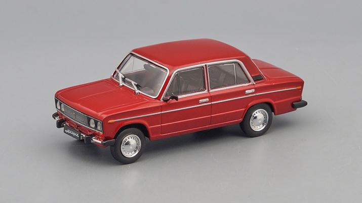 Волжский автомобиль 2106, Автолегенды СССР 266, бордовый