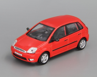 FORD Fiesta V 5-dr (2002), red
