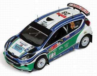 FORD Fiesta S2000 28 8th Rally Carona Mexico (S-WRC Winner) (X.Pons - A.Haro) 2010, green