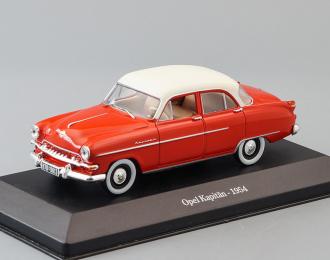 OPEL Kapitan (1954), red / white