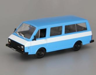 РАФ 22038, Автолегенды СССР. Лучшее 60, голубой / белый