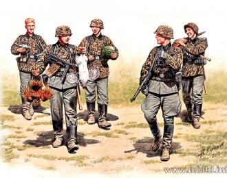Сборная модель Немецкая пехота в Западной Европе 1944-1945 гг.
