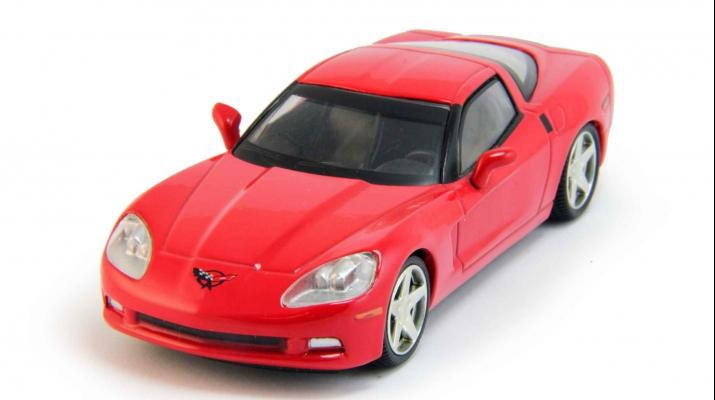 CHEVROLET Corvette Z51 Coupe, Суперкары 6, red