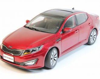 KIA Optima (2012), red