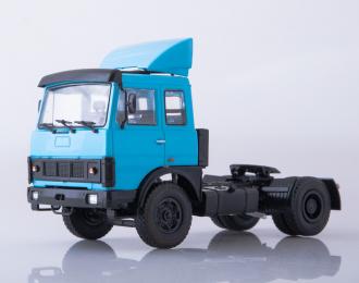 МАЗ-5432 седельный тягач, голубой