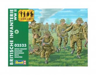 Сборная модель Британская пехота British Infantry WWII