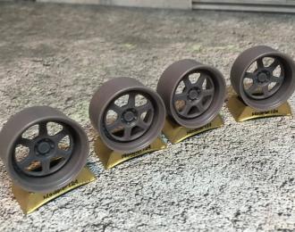 Комплект дисков HellaFlush Work meister L1 3P (с резиной Proxes T1-R)