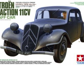 Сборная модель CITROEN Traction 11CV, с фигурой водителя