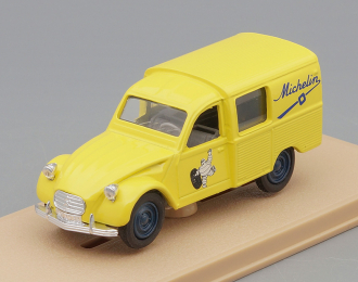 CITROEN 3CV Michelin, yellow