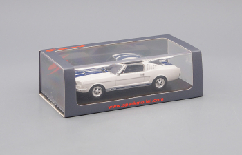 FORD Mustang Shelby G.T. 350 (1966), white / black